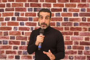 simone mele spettacolo stand up comedy